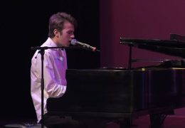 "Ben Dunnill performs ""Your Song"" at the 2017 SASSY Awards"